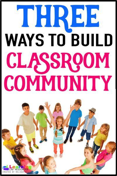 how to create a sense of community in the classroom