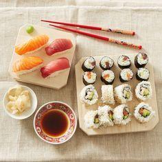 Sushi Variationen: Makis, Nigiris und California Roll