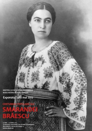 Smaranda Braescu, a true role model and parachuting and aviation record holder from #Romania. She wore the #RomanianBlouse in the air and at all ceremonies she was honored at. #LaBlouseRoumaine