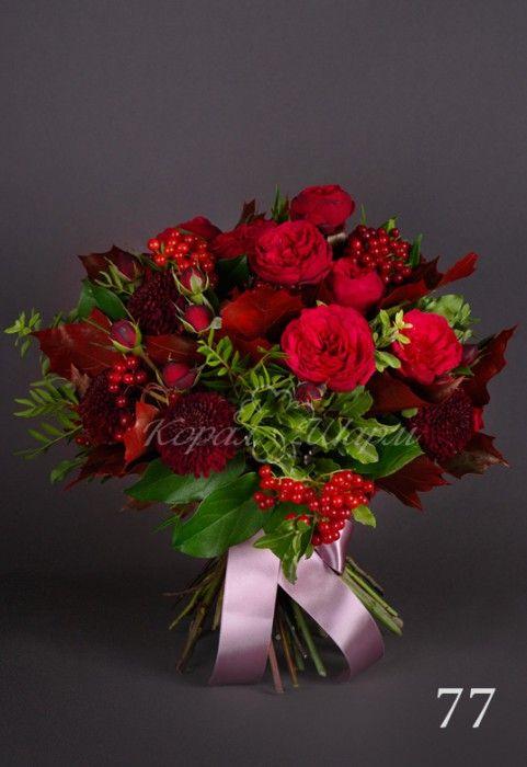 Заказать букет из роз и хризантем