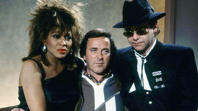 p02hzgw5.jpg (640×360)* Tina Turner & Elton John with Terry Wogan 1985*