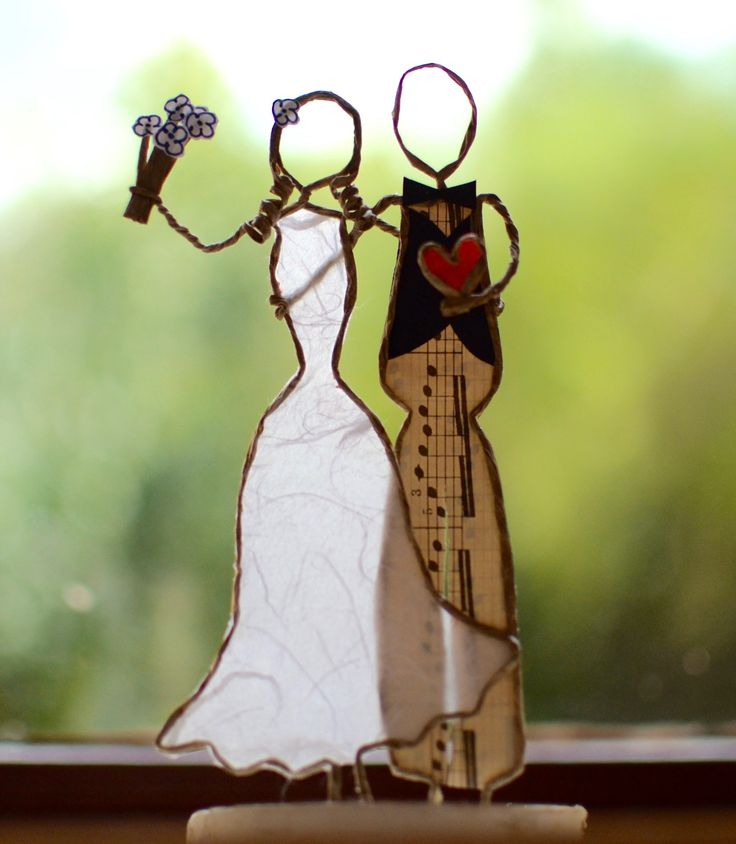 Fée de papier : Vive les mariés !