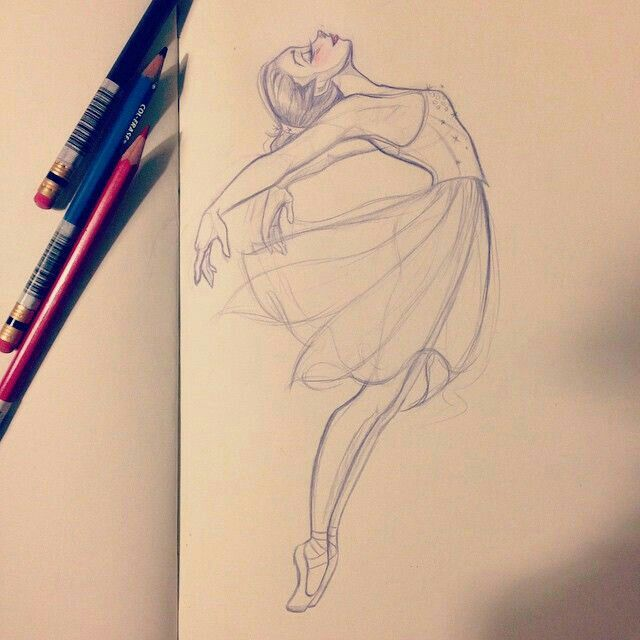 Pin By Nicole On What To Draw Girl Drawing Sketches Ballet Drawings Dancing Drawings