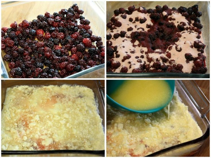 Mommy's Kitchen - Country Cooking & Family Friendly Recipes: Very Berry Blackberry Dump Cake
