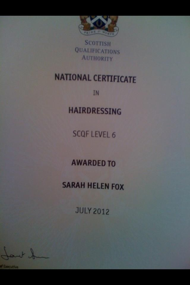 hairdresser resume%0A Food hygiene   Certificates and qualifications   Pinterest   Certificate