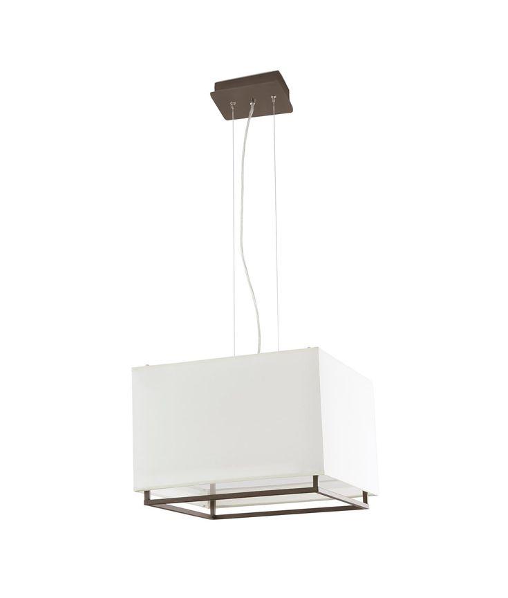 Las 25 mejores ideas sobre techos marrones en pinterest - Pintar lamparas de techo ...
