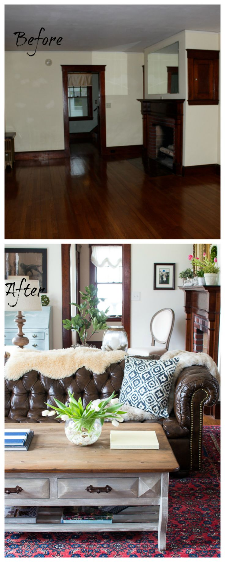 Living Room Renovation Before And After best 25+ before after home ideas on pinterest | before after
