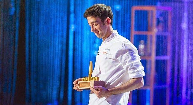 David García, ganador de la segunda edición de Top Chef