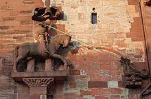 Der heilige Georg am Basler Münster