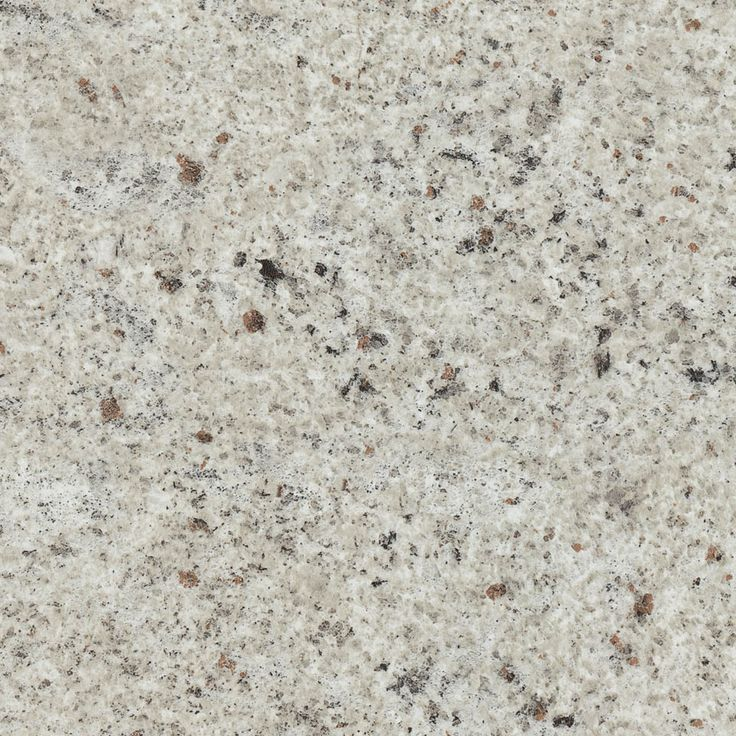 PURE KASHMIR GLOSS - A realistic off-white Kashmir granite structure with random black and deep rust coloured quartz features.