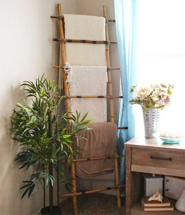 17 Ideas Para Decorar Con Cañas De Bambú Cañas De Bambu Decoracion Ideas De Bambú Escaleras De Bambú