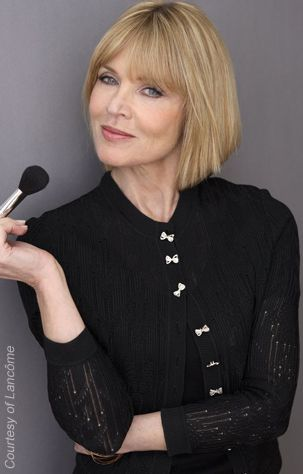 Sandy Linter - Makeup artist and spokesperson for Lancome  Sandy Linter   Fab Over Fifty