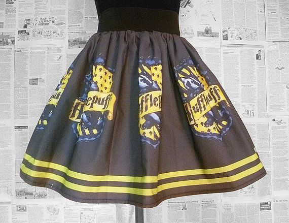 Hufflepuff, Harry Potter Dress, Skirt, Hufflepuff House, Harry Potter, ROOBY LANE