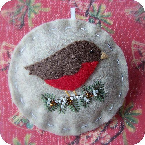Holiday Robin