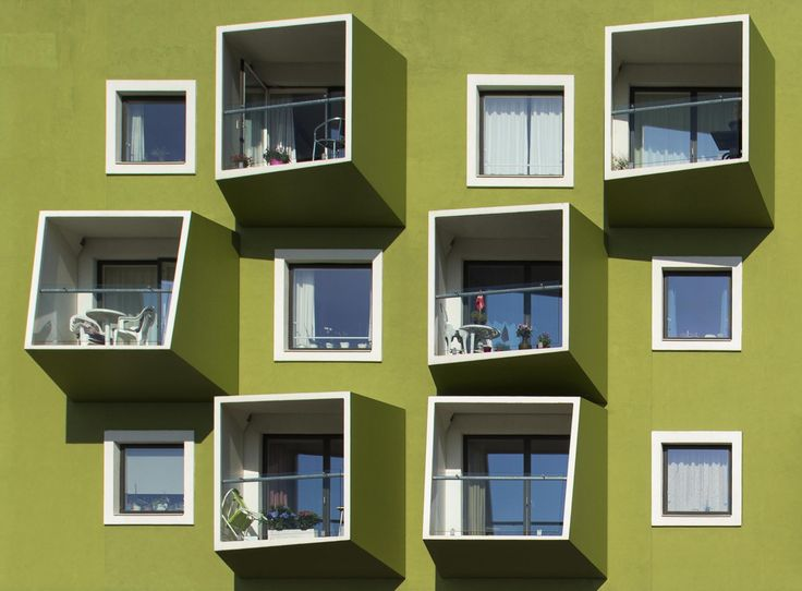 Photograph Windows and Balconies by Jan Lykke on 500px