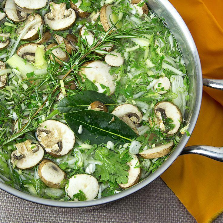 Gut Healing Vegetable Stock |Om Nom Ally