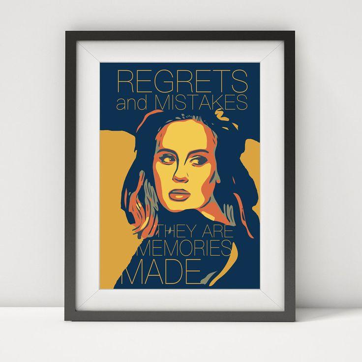 adele, adele lyrics, adele poster, adele print, adele art, prints, music legend, adele-some one like you, grammy award,gift, music poster by greatomlondon on Etsy