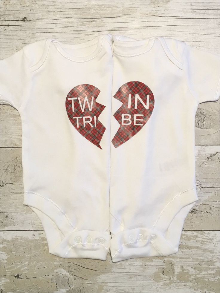 Excited to share the latest addition to my #etsy shop: Twin bodysuits, baby twins clothes, baby shower ideas, twin tribe, tartan, baby clothes #twinonsies #babyclothes #twinclothes #babyshowergift