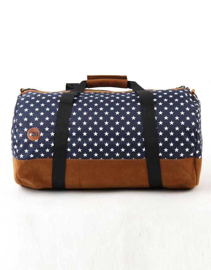 cestovní taška MI-PAC - Duffel All Stars Navy (011) | SNOWBITCH.CZ