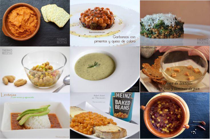 9 platos para incluir las legumbres en nuestra dieta - http://www.thermorecetas.com/9-platos-para-incluir-las-legumbres-en-nuestra-diet/