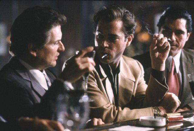 "Joe Pesci and Ray Liotta in ""Goodfellas"" (Martin Scorsese) 1990"