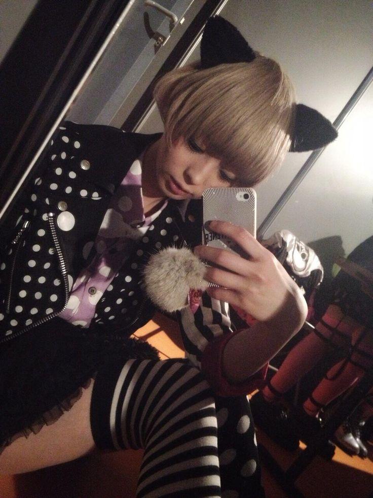 corette:  最上もが (Mogami Moga) Twitter / mogatanpe: きのうはファッションショーに参加しましたMember ofDENPA-GUMI.incinfo :blog/twitter
