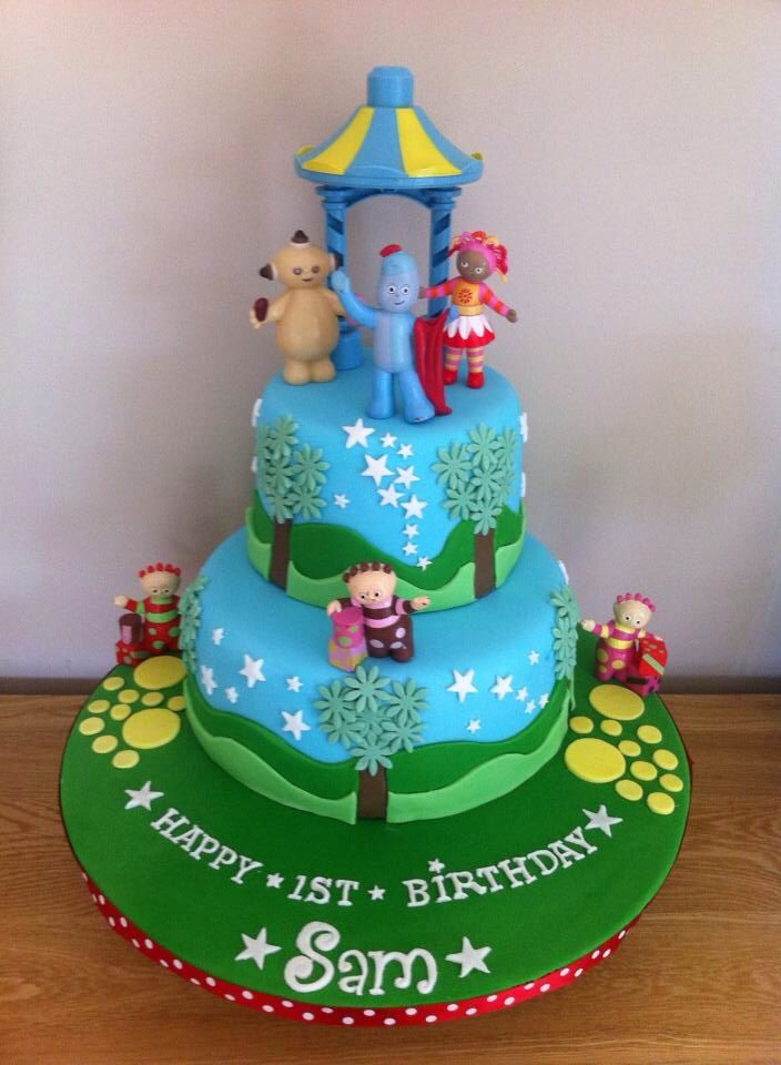 The 53 best images about in the night garden on pinterest for In the night garden cakes designs