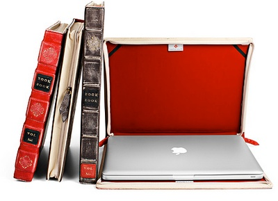 best gift ever for my husband!Macbook Covers, Old Book, Macbook Air, Vintage Book, Macbookpro, Leather Cases, Laptops Cases, Bookbook, Macbook Pro