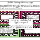 Type, Then Print, zebra labels