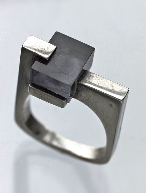 notchahommeboy:  Constructivist French ring c.1965