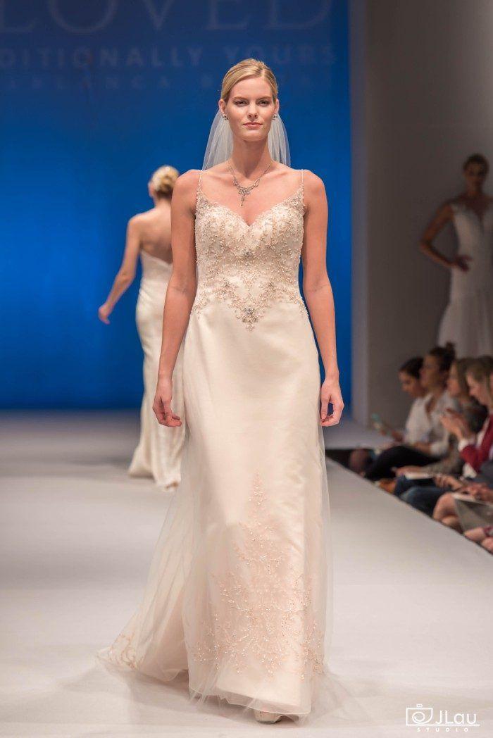 new wedding dresses from casablanca bridal rose gold