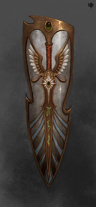 High Elves Shield for Warhammer Online, by Unknown Artist