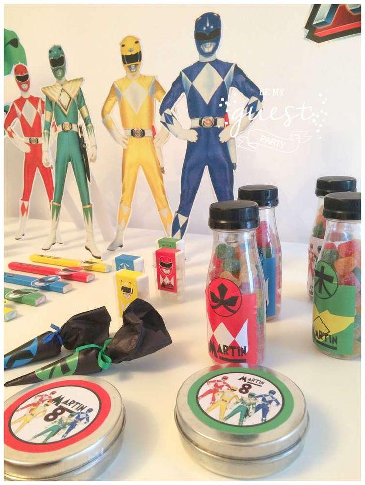 Power Rangers Party Box Birthday Party Ideas   Photo 1 of 8