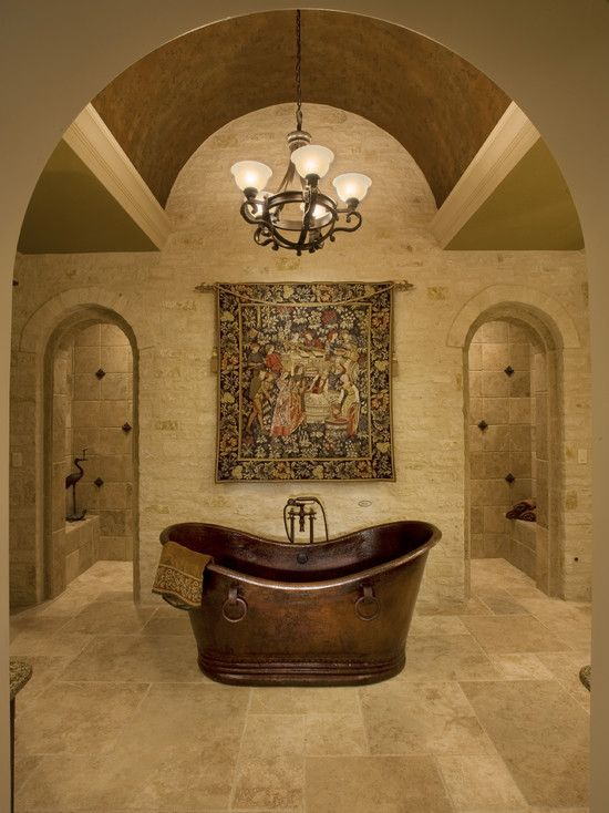 Bathroom With Great Copper Tub Dream Home Favorites Pinterest