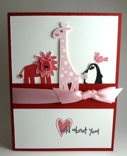 Thinking of changing colors and sentiment for new baby or child's card