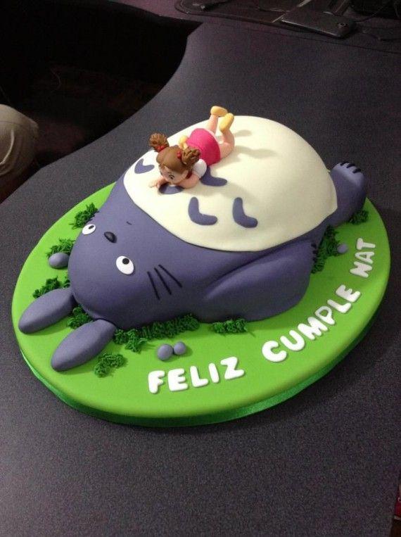 Les plus beaux gâteaux geeks - Totoro