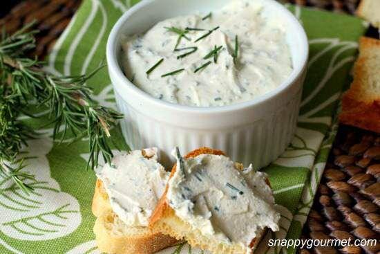 Rosemary, Lemon, & Feta Spread Recipe | SnappyGourmet.com