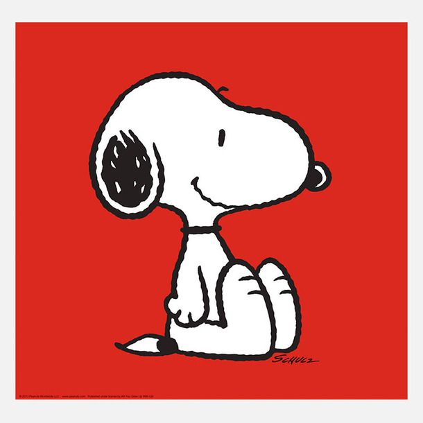 Printable Snoopy Pictures | Snoopy Print Red