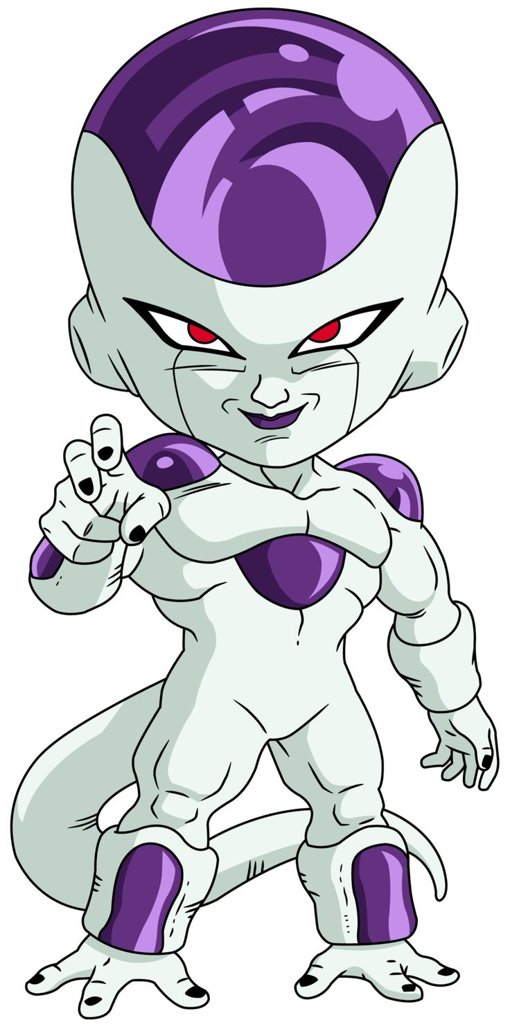 Freezer Forma Final - Personajes Chibi de Dragon Ball