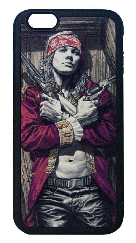 【Guns N' Roses/Axl Rose】ガンズ・アンド・ローゼズ アクセル・ローズ iPhone6/6s ハードカバー(B)