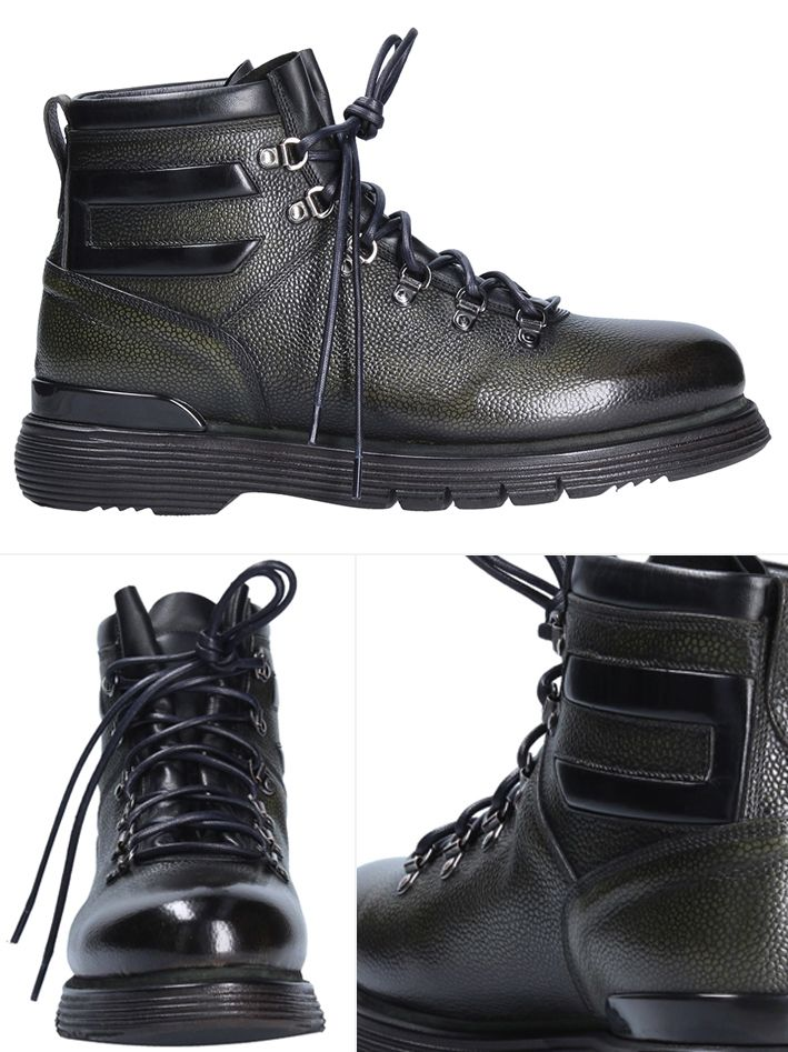 Green mountain boot by #franceschettishoes #style #fashion #shoes #handmade #madeinitaly #manfashion