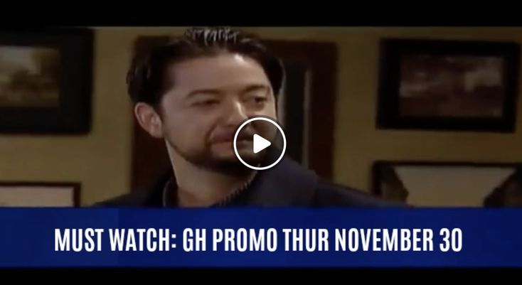 WATCH: General Hospital (GH) Preview Thursday, November 30 Spinelli Has No Doubt Who Patient 6 Is