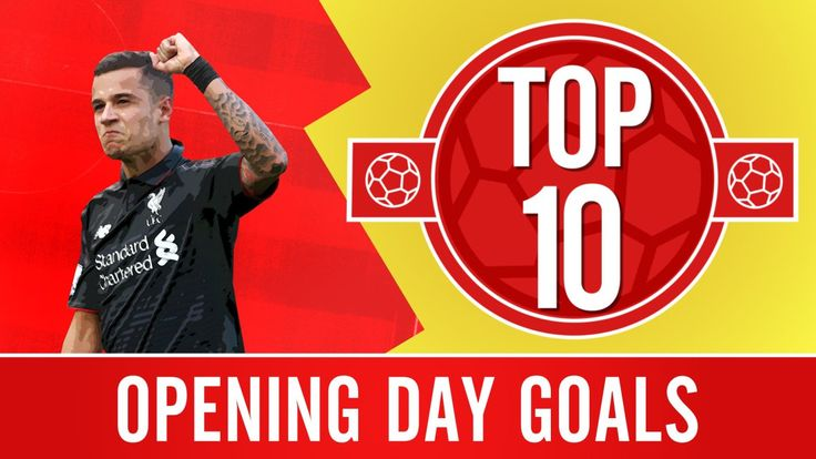 #TOP10 - Opening Day Goals - #LiverpoolFC - A countdown of #LFC's finest strikes on opening day during the #PremierLeague era. #YNWA #JFT96 http://www.gosoccertube.com/top-10-opening-day-goals-liverpool-fc/