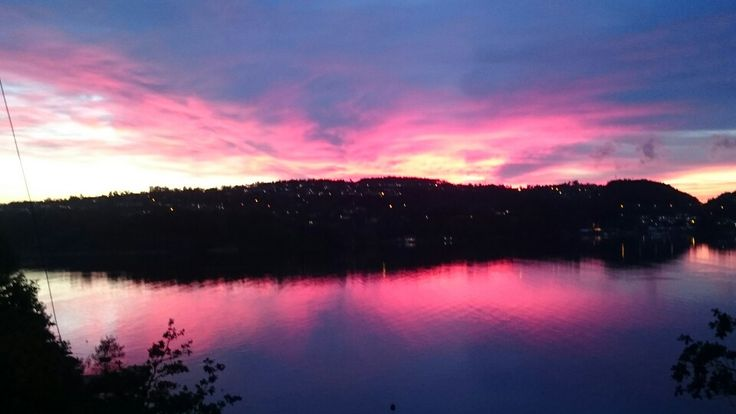 Evening over the fjord