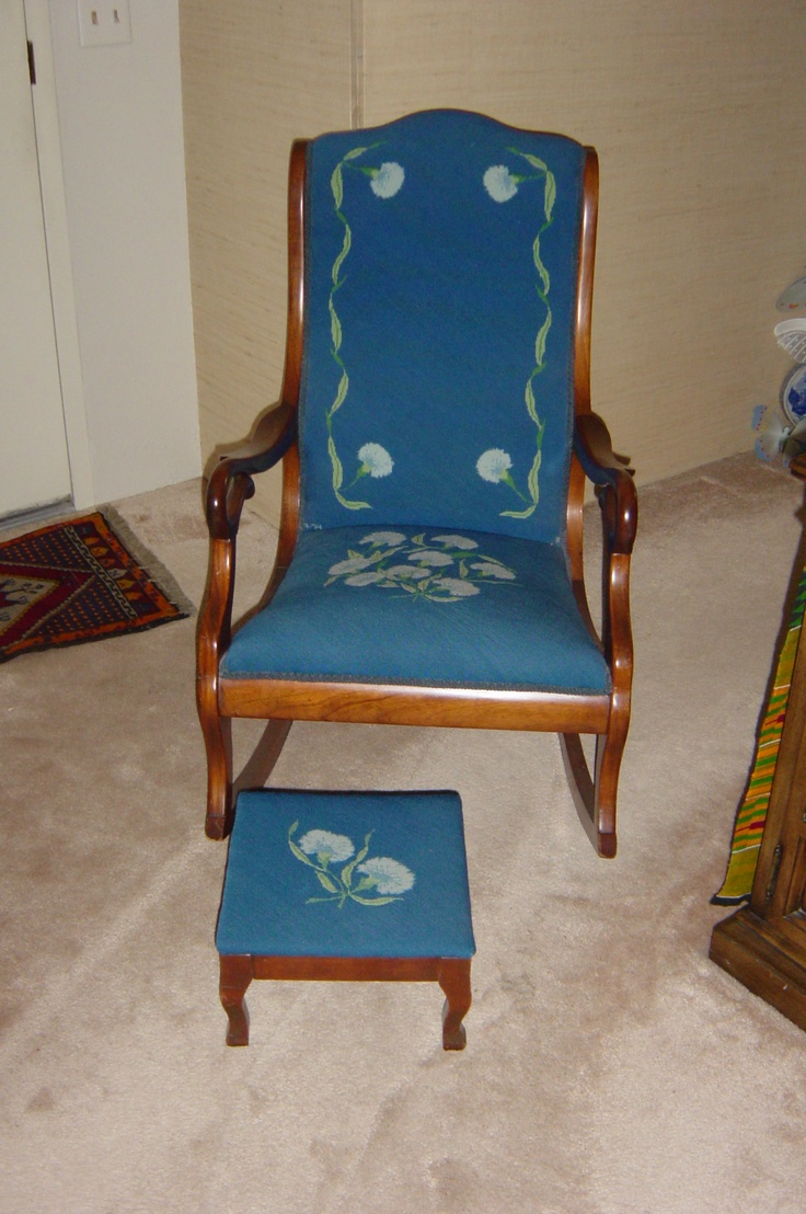 rocking chairs rocker forward my grandma s rocking chair the cover was ...