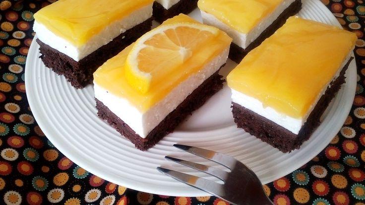 Diétás Fanta szelet - diétás túrós sütemény cukor és fehér liszt nélkül!