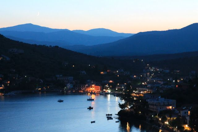 Pteleos, Greece: dusk