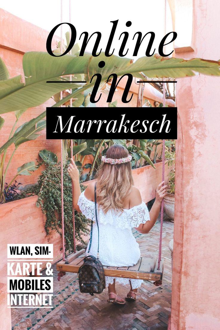 Online in Marrakesch - WLAN, Sim-Karte und mobiles Internet