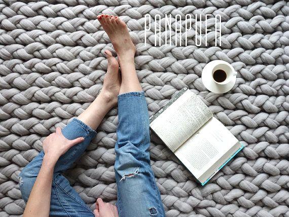best 25 knit rug ideas on pinterest. Black Bedroom Furniture Sets. Home Design Ideas