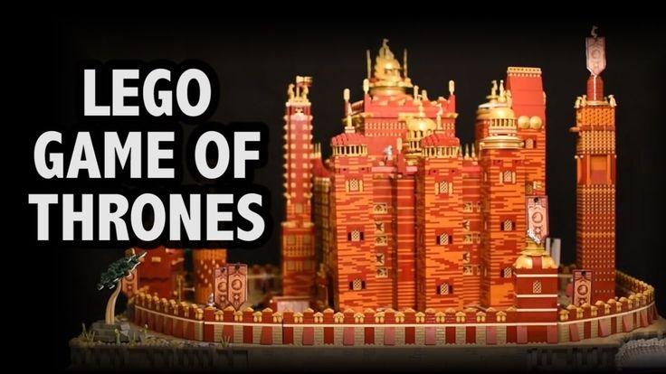 In minutiöser Feinarbeit hat Claus-Marc Hahn von BricksCreations mit 125 000 Lego-Bausteinen den Roten Bergfried aus der TV-Serie Game of Thrones nachgebaut. Und als wäre das nicht schon toll genug, hat er mit einem Servomotor noch zusätzlich Bewegung ins Spiel gebracht. VIele der handgemachten Lego-Kreationen werden bei BricksCreations angeboten und stehen somit samt Anleitung zum Nachbau [ ]
